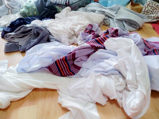 雨の日の洗濯